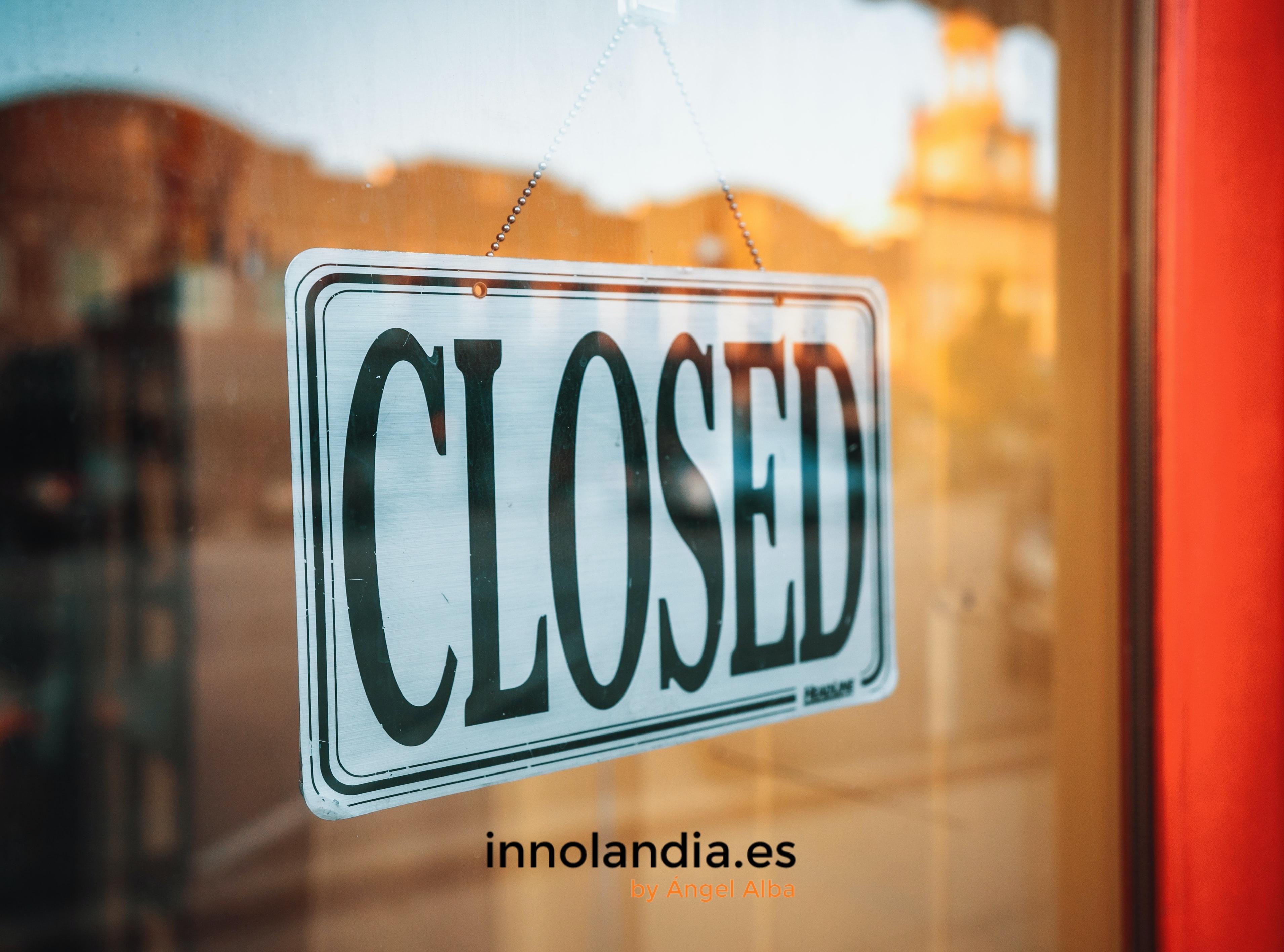 El cierre de proyectos de innovación