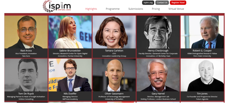 Congreso ISPIM 2020