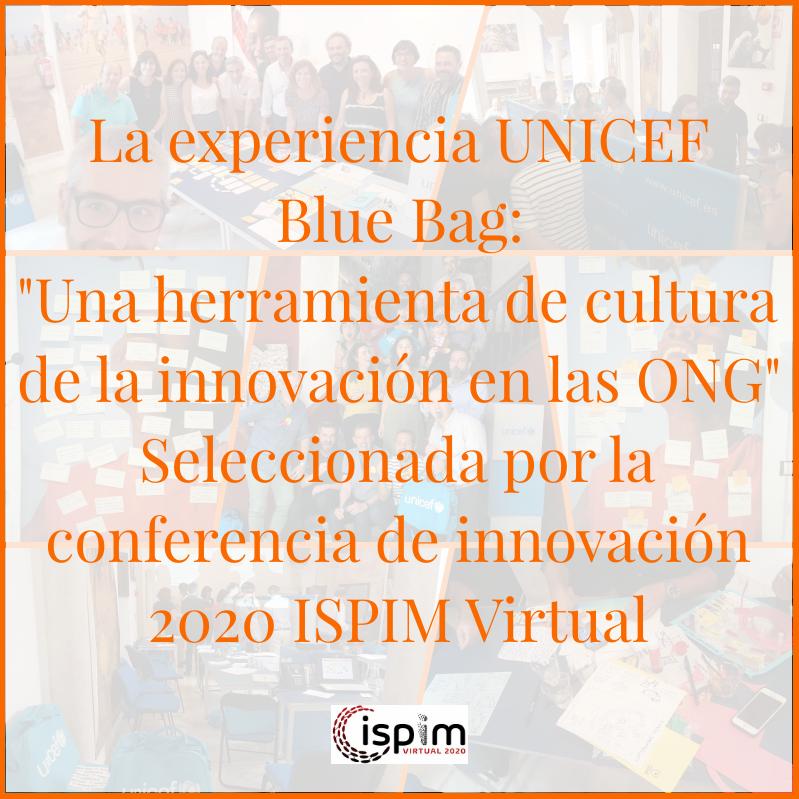 Innolandia y Unicef en el congreso ISPIM 2020