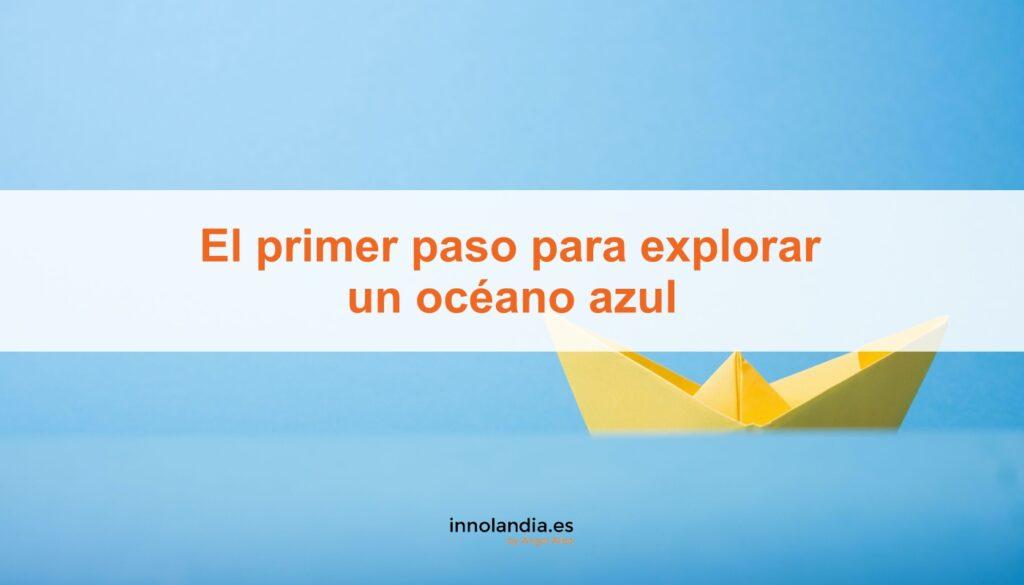 explorar un océano azul