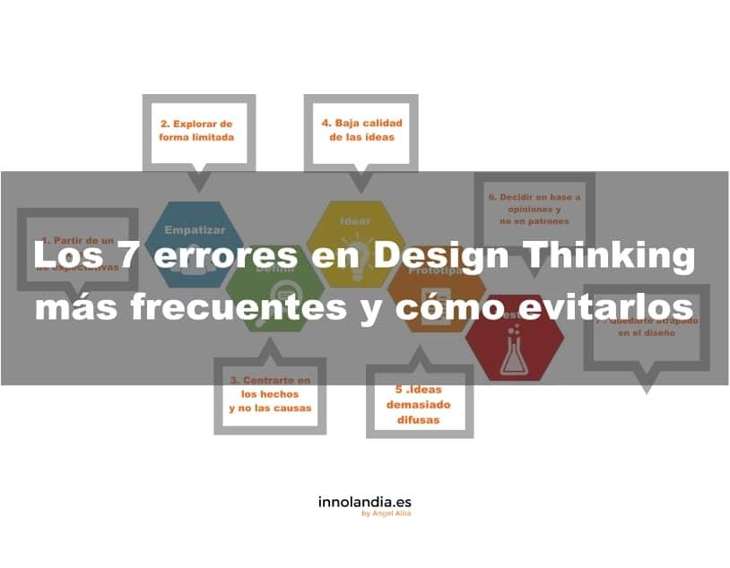 Los 7 errores en Design Thinking más frecuentes y cómo evitarlos